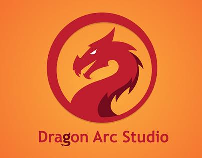 Dragon Arc Studio - Game Studio Logo