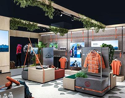 Adidas Terrex Mountain Loft Pop-Store