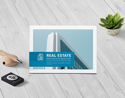 A5 Realestate/Architecture Brochure