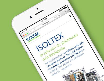 Isoltex · Sustainable Branding