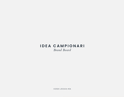 Idea Campionari - Brand Board