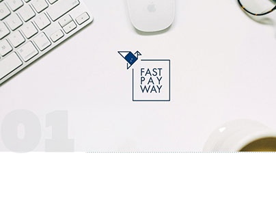 Logo & Brand-board 4FastPayWay (Money transfer system)