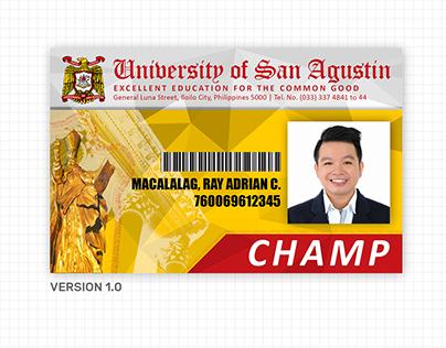 2018 University of San Agustin - School ID Redesigning
