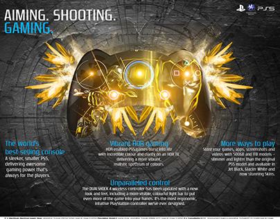 Playstation 5- Press Ad