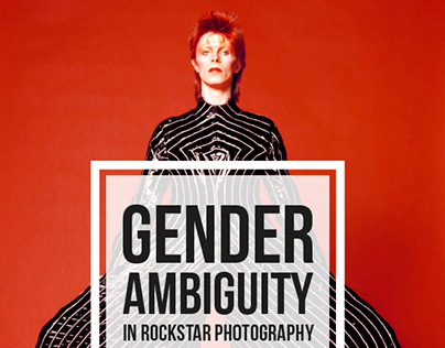 Gender Ambiguity in Rockstar Photography