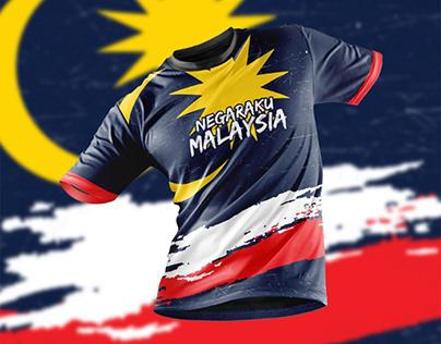Merdeka T-Shirt Design (Malaysia)