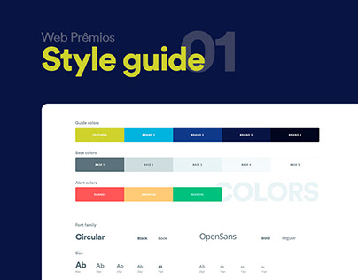 Design System Web Prêmios