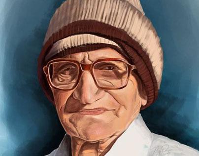 Digital Painting of my Grandpa