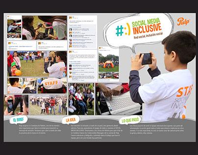 Social Media Inclusive - Gaseosas Pulp & Teletón