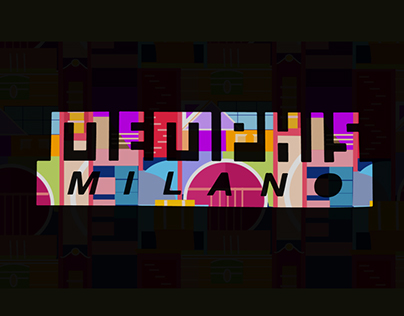 Memphis Milano Brand Ident