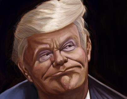 Donald Trump - Digital Painting