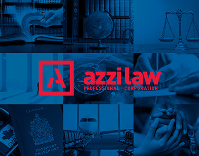 Azzi Law Professional Corporation - Branding