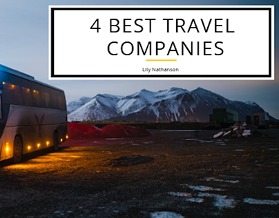 4 Best Travel Companies