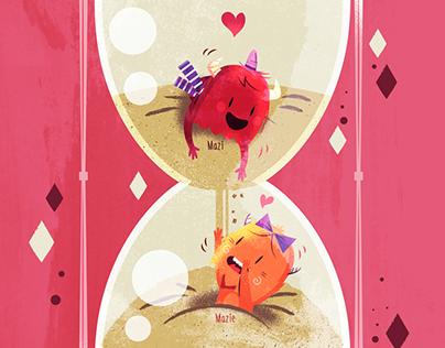 :::Mazi & Mazie, love illustrations:::