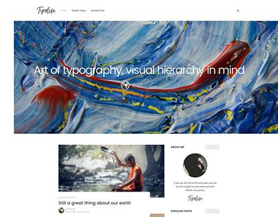 Typolife WordPress Theme