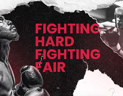 Boxing Glove Branding