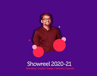 Graphic Design Showreel 2020-2021