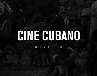 Diseño de la Revista Cine Cubano