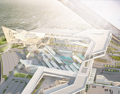 GRADUATION PROJECT; MEDICAL CITY IN NEW ASWAN