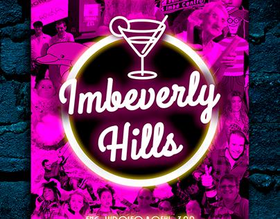 Imbeverly Hills - Cartaz de Divulgação de festa
