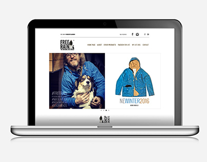 Free Rain - The Original Dog Jacket