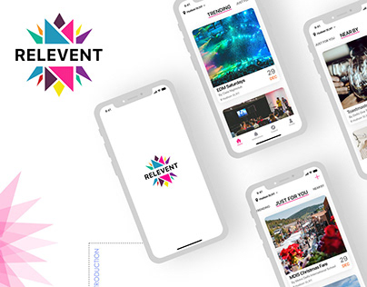 Relevent-find relevant events & meet like-minded people
