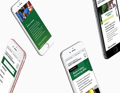 ASSP Website Redesign