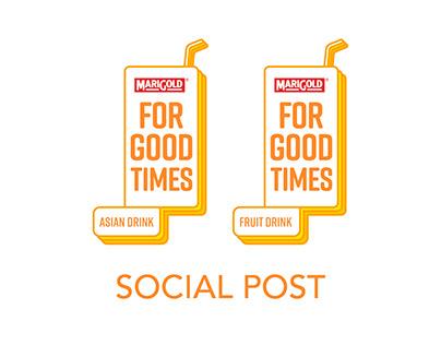 Marigold Asian Drink + Fruit Drink Social