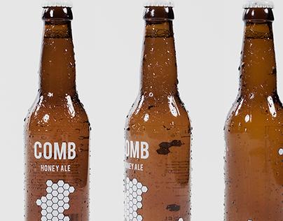 COMB Honey Ale Lable