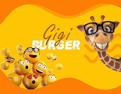 Gigi Burger social media