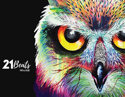21 BEATS, brand identity, art & murals