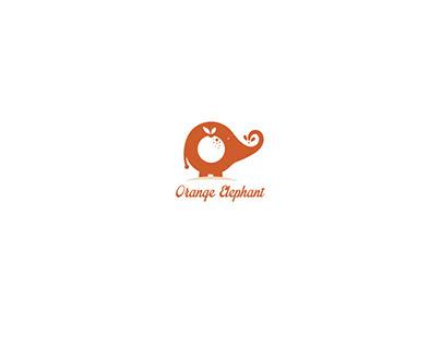 Orange Elephant Logo For Sale