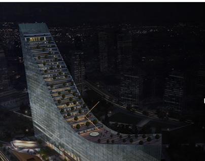 YDA Center | Business Center Project Website (Ankara)