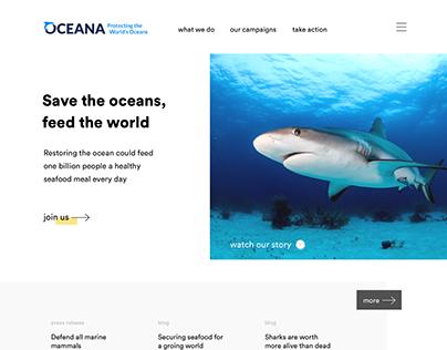 Ocean Homepage