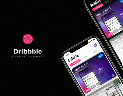 Dribbble for iOS 13