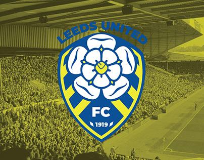 Leeds United FC Rebranding
