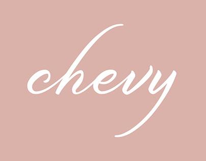 Chevy visual identity