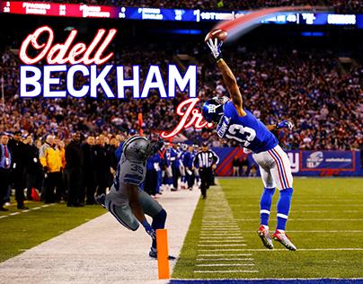 Odell Beckham Poster
