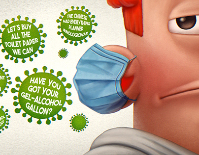 Corona Virus Illustrations #1