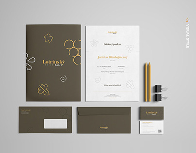 Lotrinsky / web & visual identity for hotel