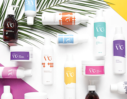 Identity and packaging for VG professional
