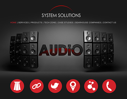 System Solutions Corporate Identity and Web Design