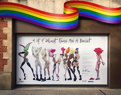 h Club Pride Window