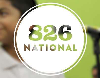 826 National Logo in Motion