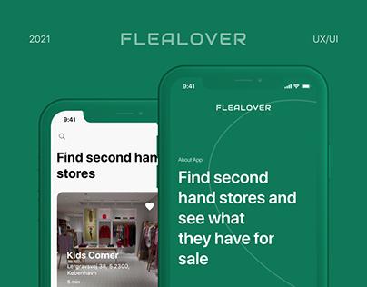 Mobile app Flealover | UX/UI