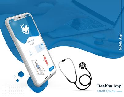 Healthy Application   UX UI DESIGN