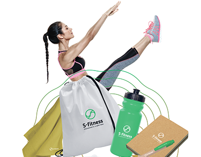 Брендинг для фитнес-клуба S-fitness