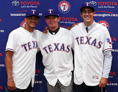 Rangers Select Pitcher Cole Winn in First Round of MLB