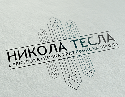 Logo Design for Electrotechnical & Architectural School
