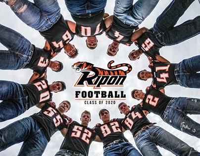 Ripon High School Football Seniors Class of 2020